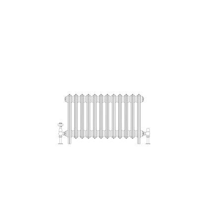 Ashdown 6 Column 485 x 748 (3852 BTU's)