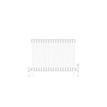3 Column 600 x 834 (3685 BTU's)