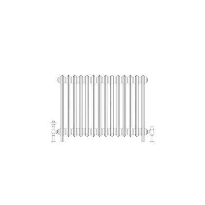 Ashdown 4 Column 660 x 868 (4158 BTU's)