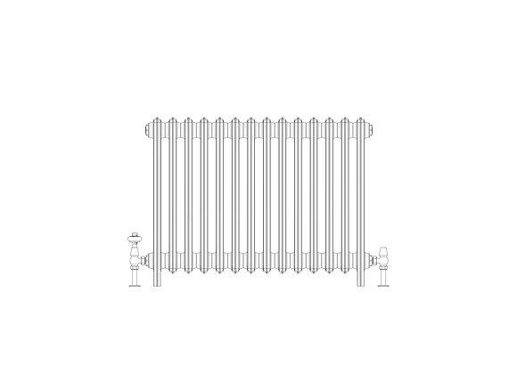 Ashdown 6 Column 665 x 868 (6062 BTU's)