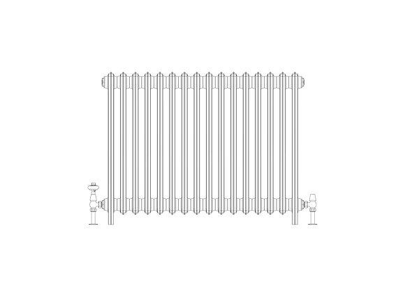 Ashdown 6 Column 760 x 988 (8032 BTU's)