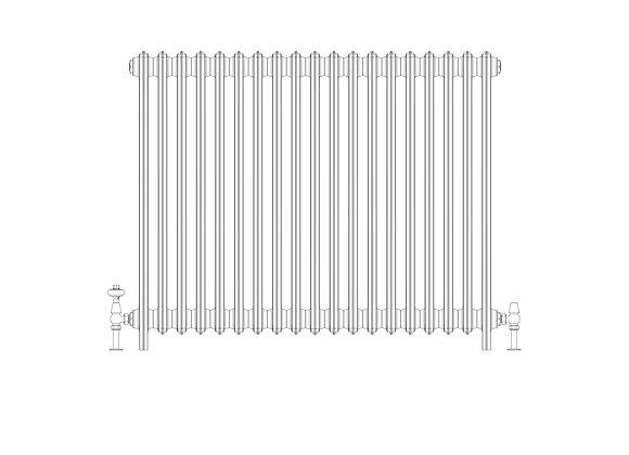Ashdown 4 Column 960 x 1168 (8113 BTU's)