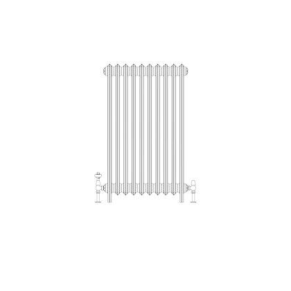 Ashdown 4 Column 960 x 628 (4270 BTU's)