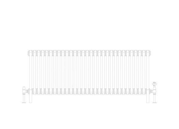 Cornel 3 Column 500 x 1374 (5220 BTU's)