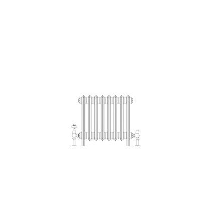 Ashdown 4 Column 475 x 508 (1696 BTU's)
