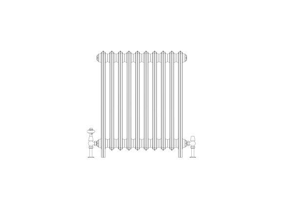 Ashdown 6 Column 760 x 628 (5020 BTU's)