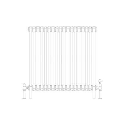 Cornel 2 Column 750 x 834 (3194 BTU's)