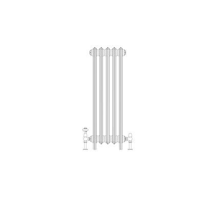 Ashdown 4 Column 960 x 328 (2135 BTU's)