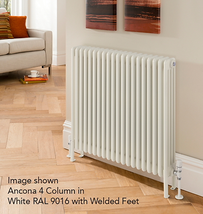 Ancona 3 Column 397 x 1239 (2943 BTU's) 27 Sections with Welded Feet