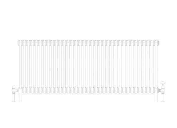 Cornel 3 Column 600 x 1599 (7165 BTU's)