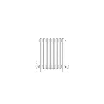 Ashdown 4 Column 660 x 508 (2376 BTU's)
