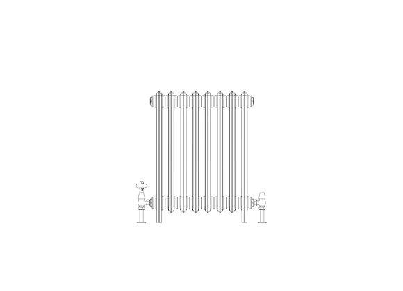 Ashdown 6 Column 665 x 508 (3464 BTU's)