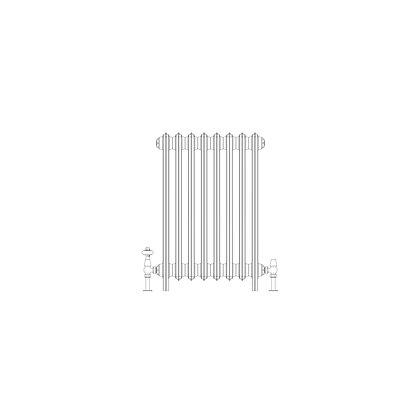 Ashdown 4 Column 760 x 508 (2760 BTU's)