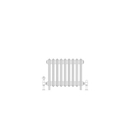 Ashdown 4 Column 475 x 568 (1908 BTU's)