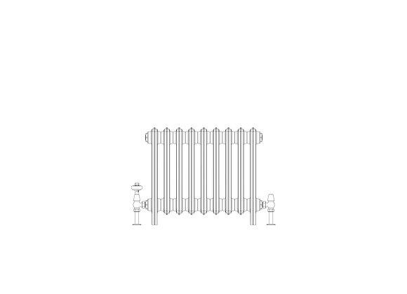 Ashdown 6 Column 485 x 568 (2889 BTU's)