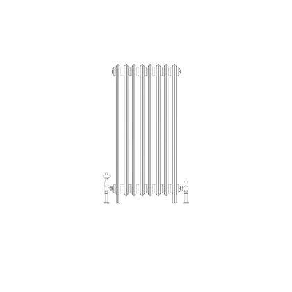 Ashdown 4 Column 960 x 508 (3416 BTU's)