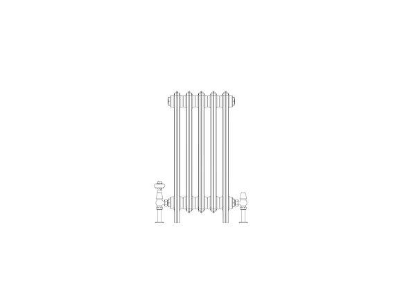 Ashdown 6 Column 665 x 328 (2165 BTU's)