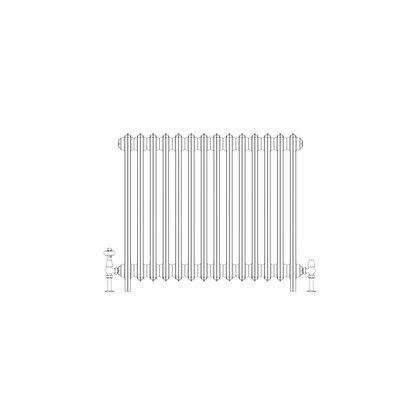 Ashdown 4 Column 760 x 868 (4830 BTU's)