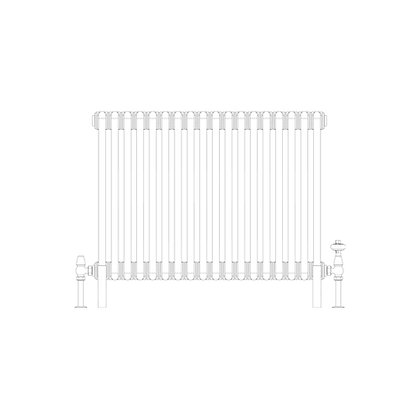 Cornel 2 Column 600 x 834 (2641 BTU's)