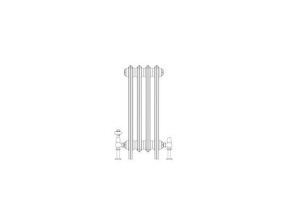 Ashdown 6 Column 665 x 268 (1732 BTU's)