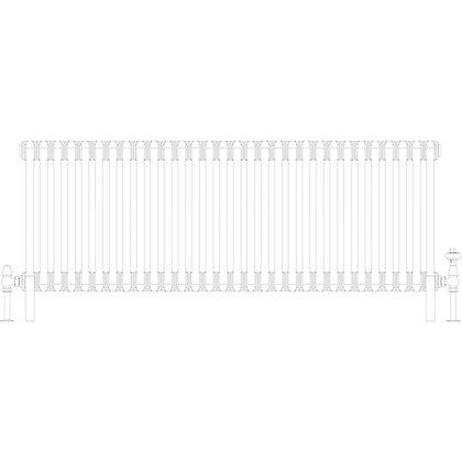 Cornel 2 Column 500 x 1374 (3685 BTU's)