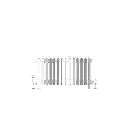 Ashdown 4 Column 475 x 868 (2968 BTU's)