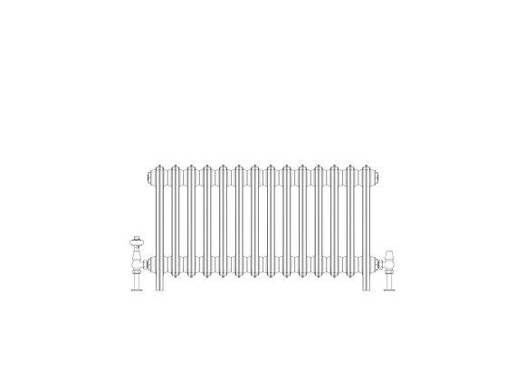 Ashdown 6 Column 485 x 868 (4494 BTU's)