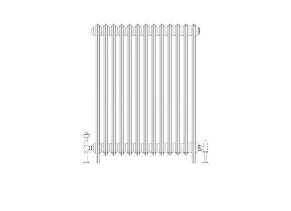 Ashdown 4 Column 960 x 808 (5551 BTU's)