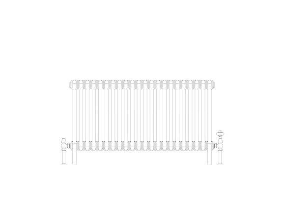 Cornel 3 Column 500 x 1014 (3828 BTU's)