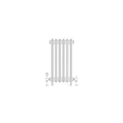 Ashdown 4 Column 760 x 388 (2070 BTU's)
