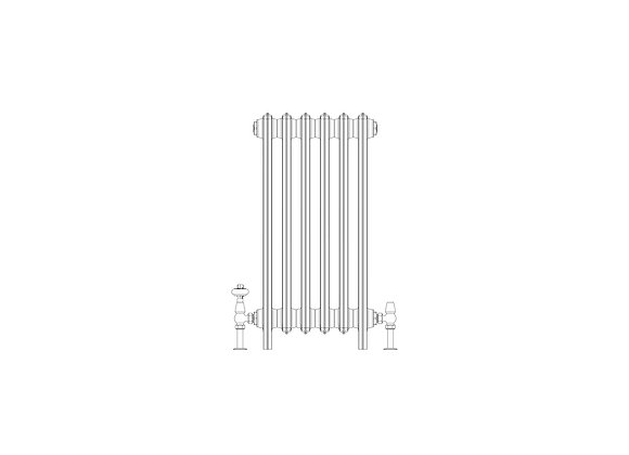 Ashdown 6 Column 760 x 388 (3012 BTU's)