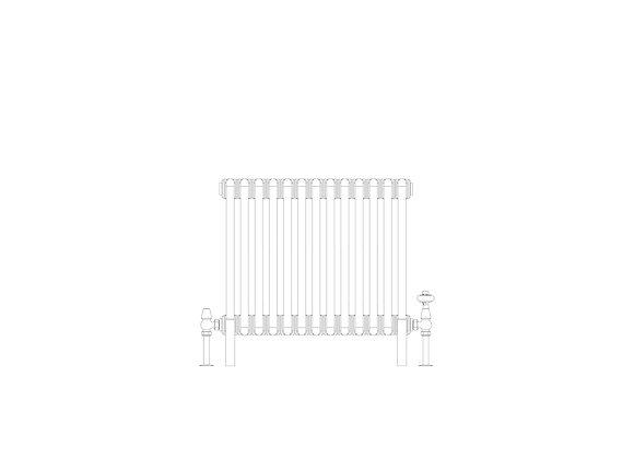 3 Column 500 x 609 (2262 BTU's)