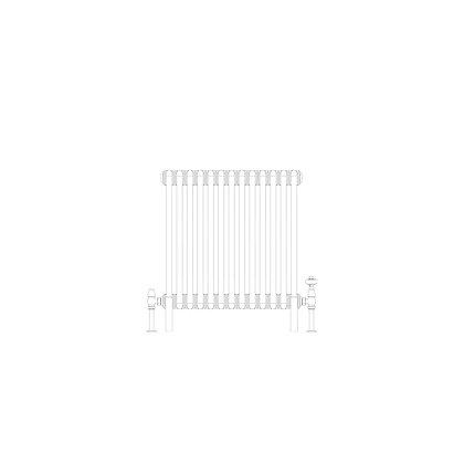 3 Column 600 x 609 (2661 BTU's)
