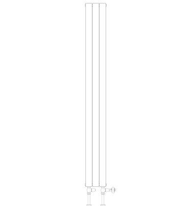Single 2020 x 236 (1723 BTU's)