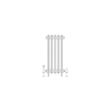 Ashdown 6 Column 760 x 328 (2510 BTU's)