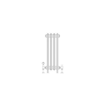 Ashdown 6 Column 760 x 268 (2008 BTU's)