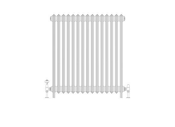 Ashdown 4 Column 960 x 928 (6405 BTU's)