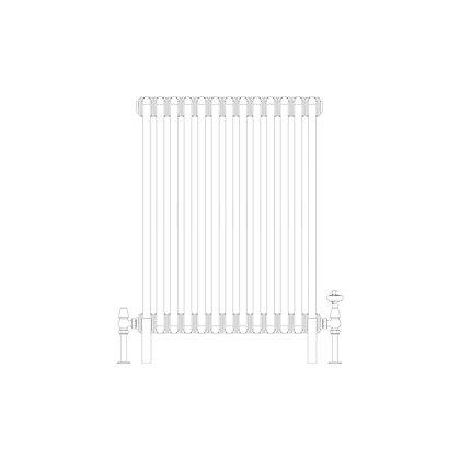 Cornel 2 Column 750 x 609 (2307 BTU's)
