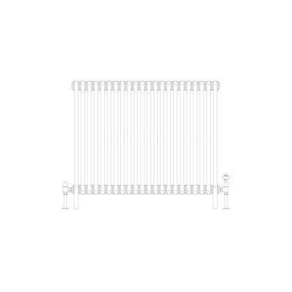 Cornel 4 Column 750 x 1014 (7206 BTU's)