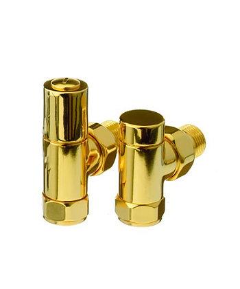 Cylinder Valve Angled (Gold)