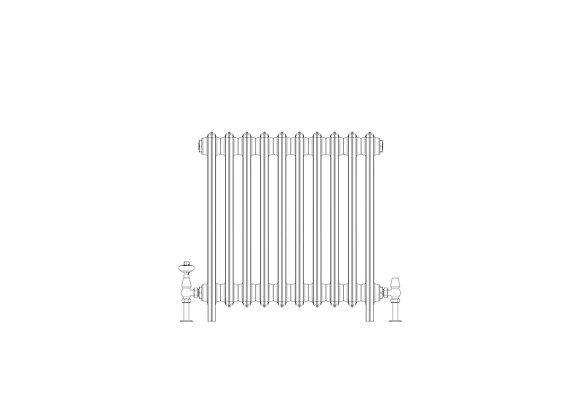 Ashdown 6 Column 665 x 628 (4330 BTU's)