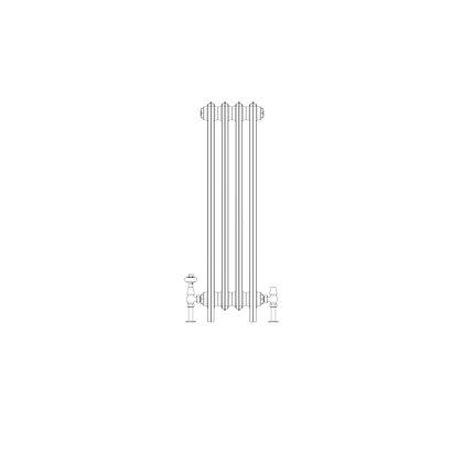 Ashdown 4 Column 960 x 268 (1708 BTU's)