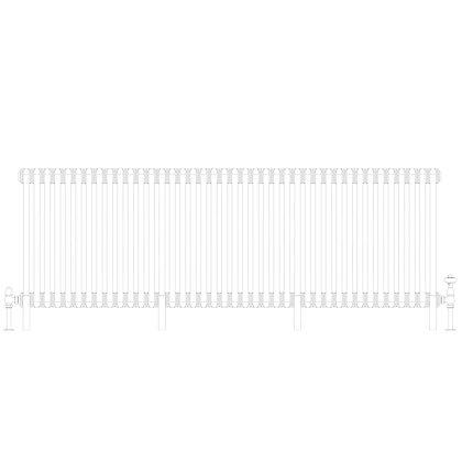 Cornel 3 Column 600 x 1824 (8189 BTU's)