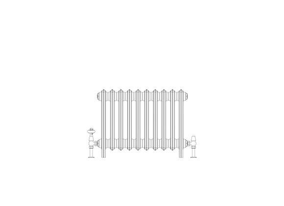Ashdown 6 Column 485 x 628 (3210 BTU's)