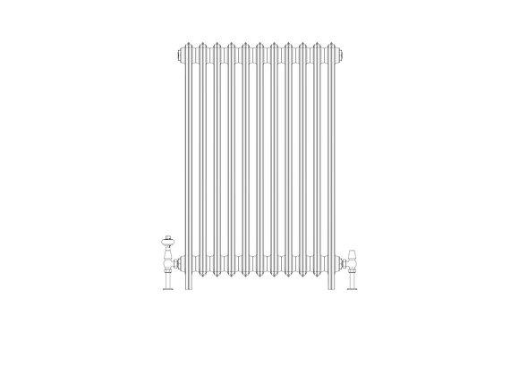 Ashdown 4 Column 960 x 688 (4697 BTU's)