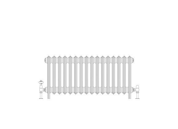 Ashdown 6 Column 485 x 988 (5136 BTU's)