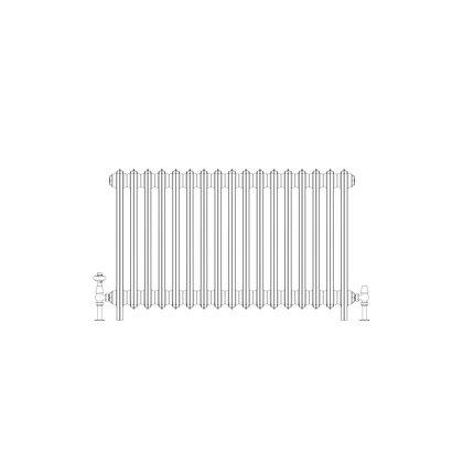 Ashdown 4 Column 660 x 1048 (5049 BTU's)