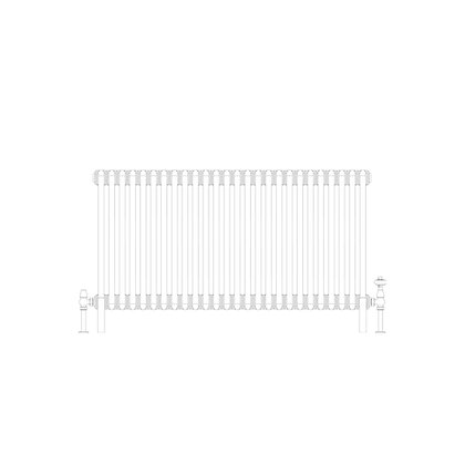 Cornel Graphex 4 Column 600 x 1194 (7008 BTU's)