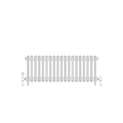 Ashdown 4 Column 475 x 1108 (3816 BTU's)