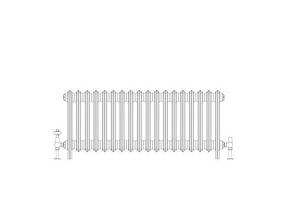 Ashdown 6 Column 485 x 1108 (5778 BTU's)